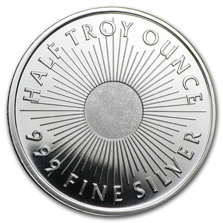 1/2 oz Silver Round - Sunshine Mint (V2)