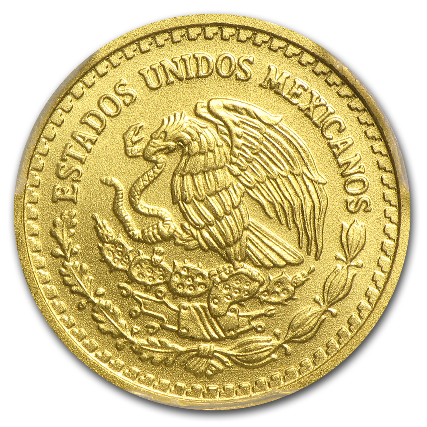 2014 1/10 oz Gold Mexican Libertad MS-70 PCGS