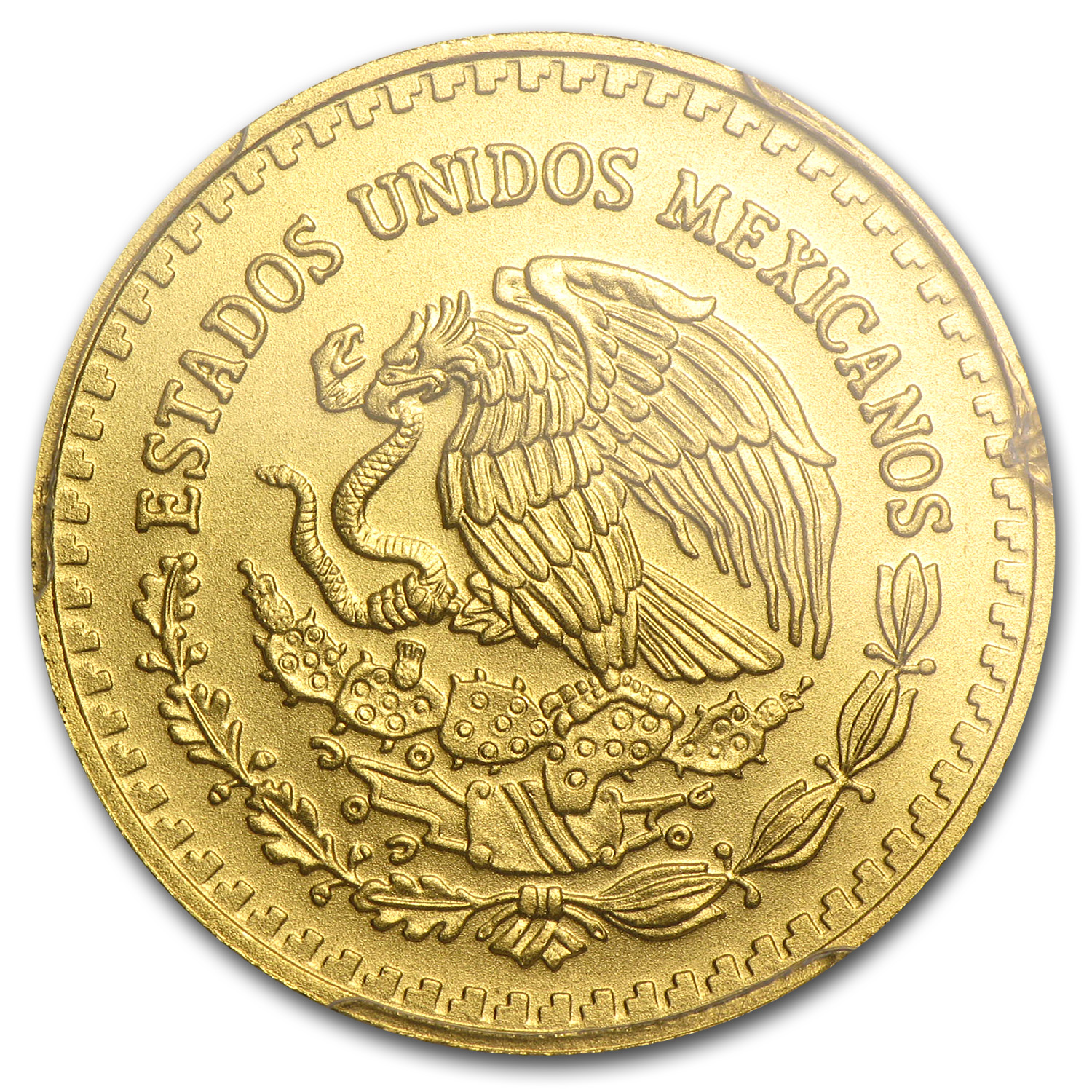 2014 Mexico 1/4 oz Gold Libertad MS-70 PCGS