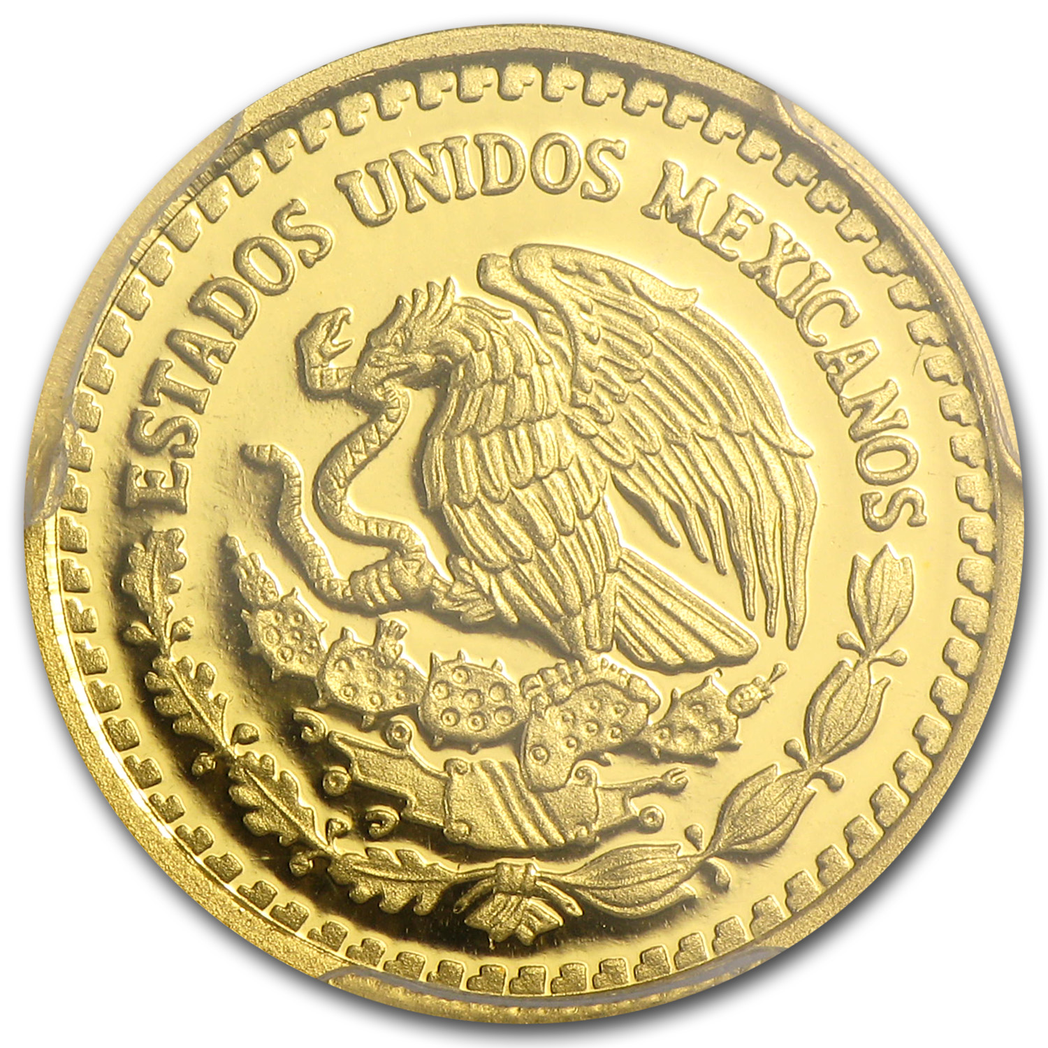 2014 1/10 oz Gold Mexican Libertad PR-70 DCAM PCGS Registry Set