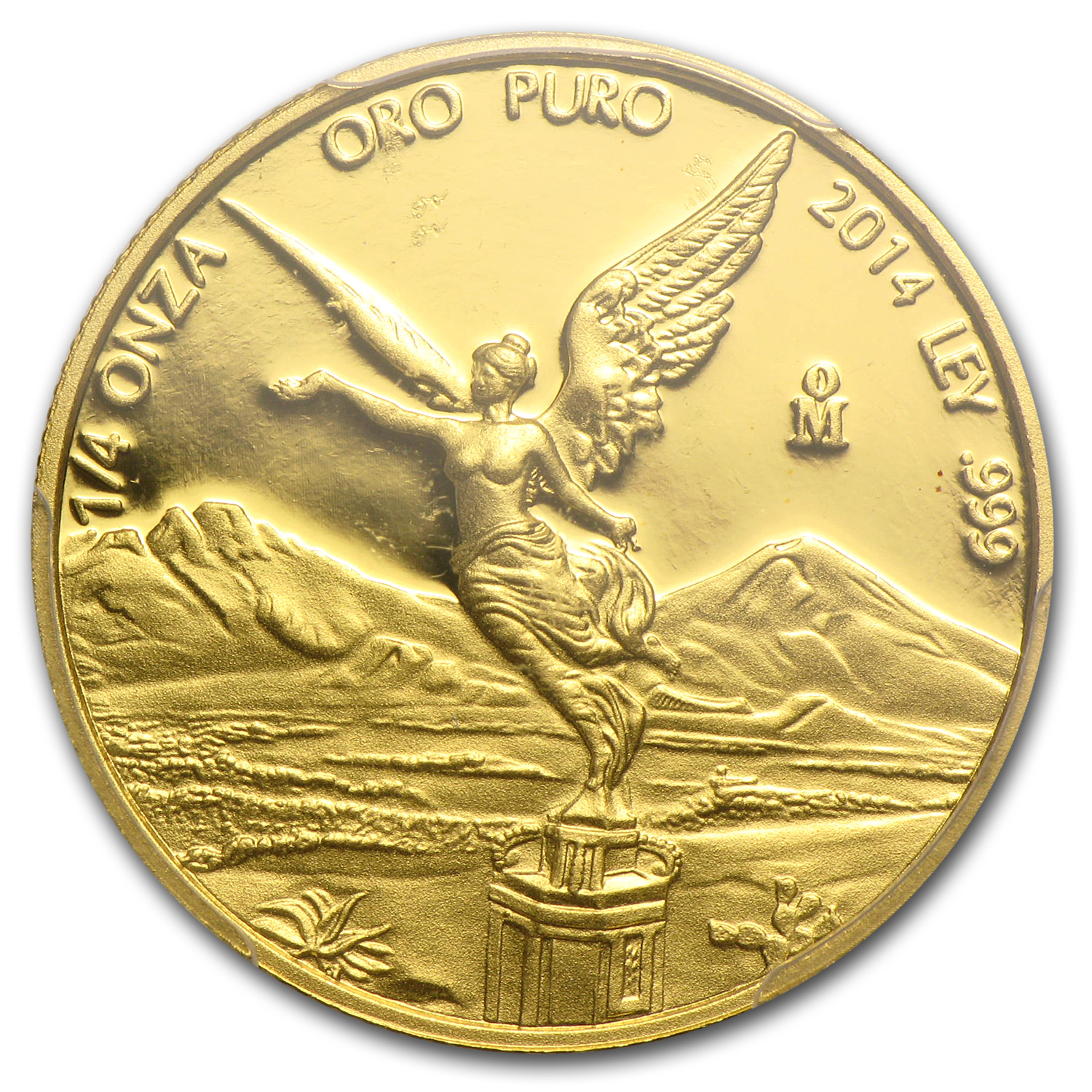 2014 Mexico 1/4 oz Proof Gold Libertad PR-69 PCGS