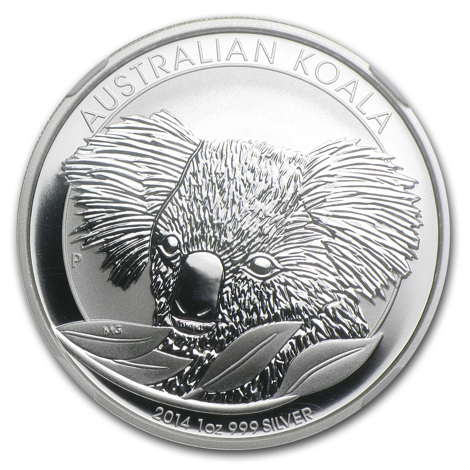 2014 1 oz Silver Australian Koala MS-69 NGC (Early Releases)