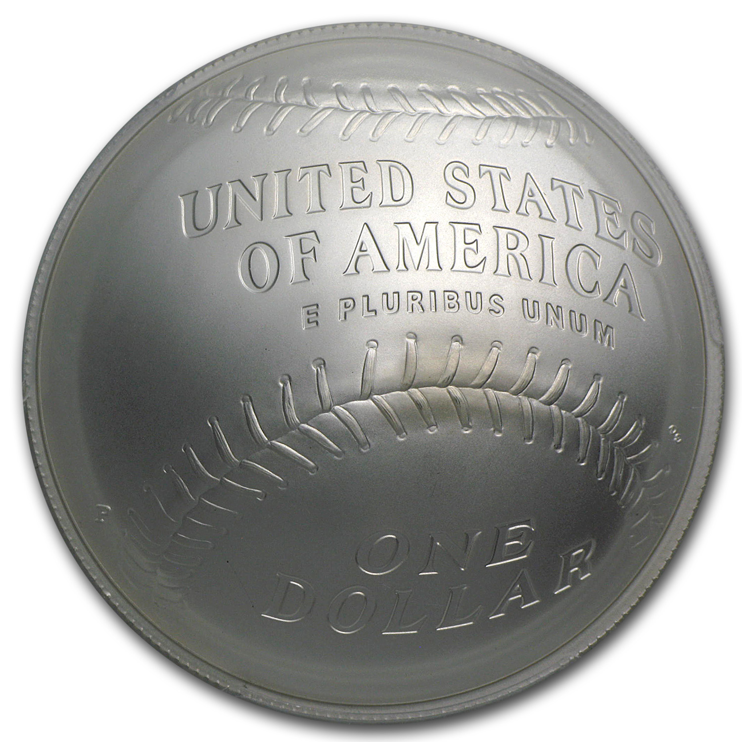 2014-P Baseball HOF $1 Silver Commem MS-70 PCGS (Banks)