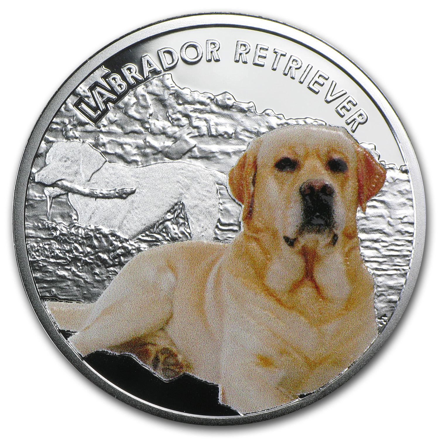 2014 Niue Silver Man's Best Friends Dogs Labrador Retriever