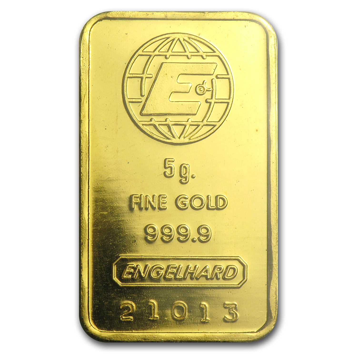 5 gram Gold Bar - Engelhard (In Assay Card)
