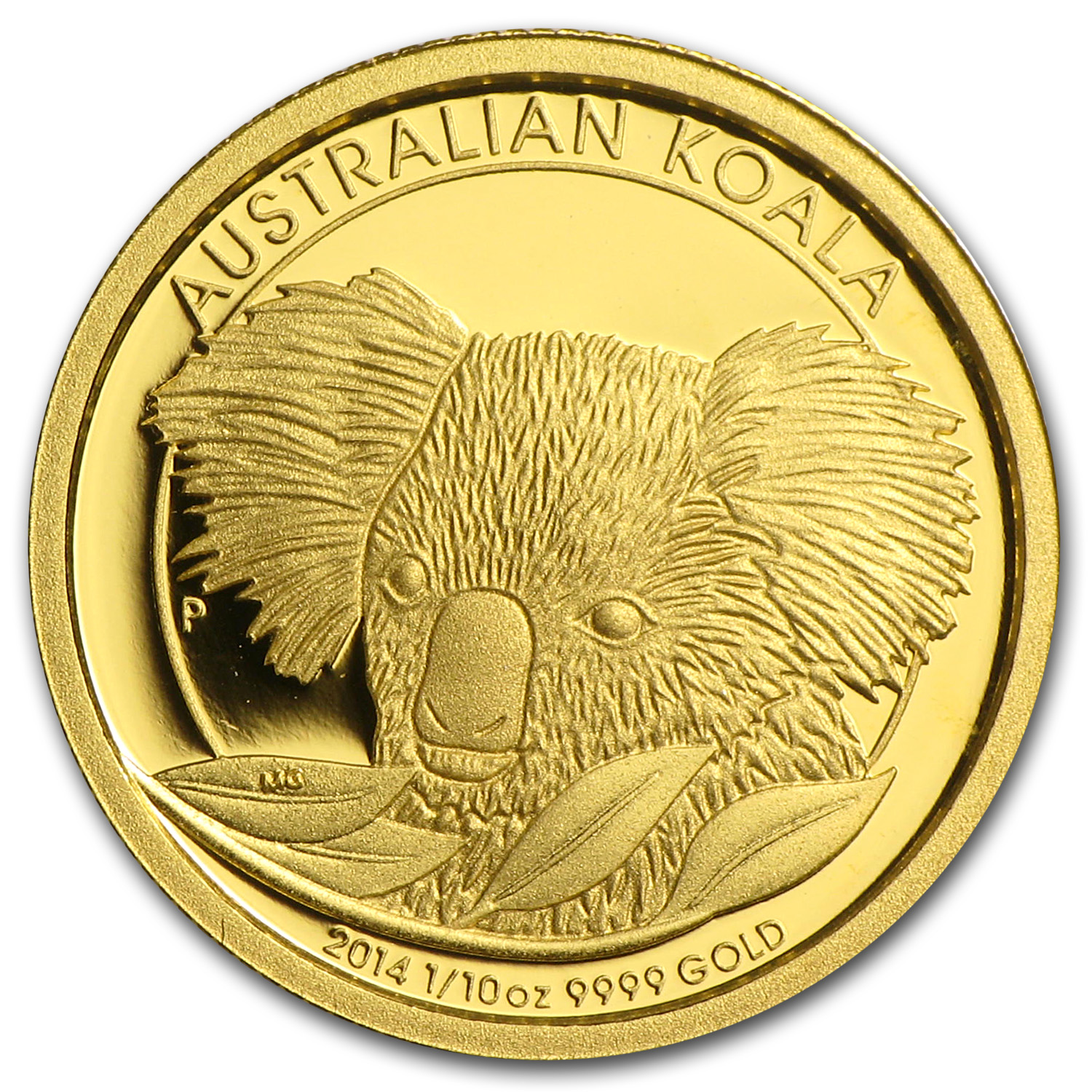 2014 Australia 1/10 oz Gold Koala Proof