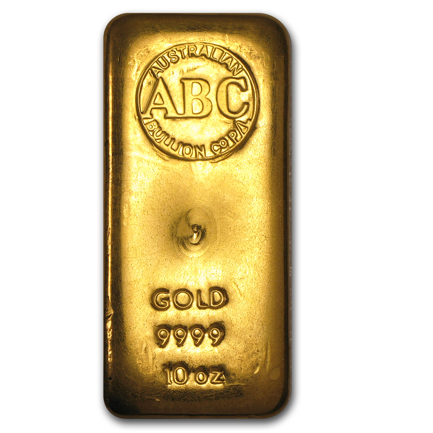 10 oz Gold Bar - Australian Bullion Co. (Loaf-Style)