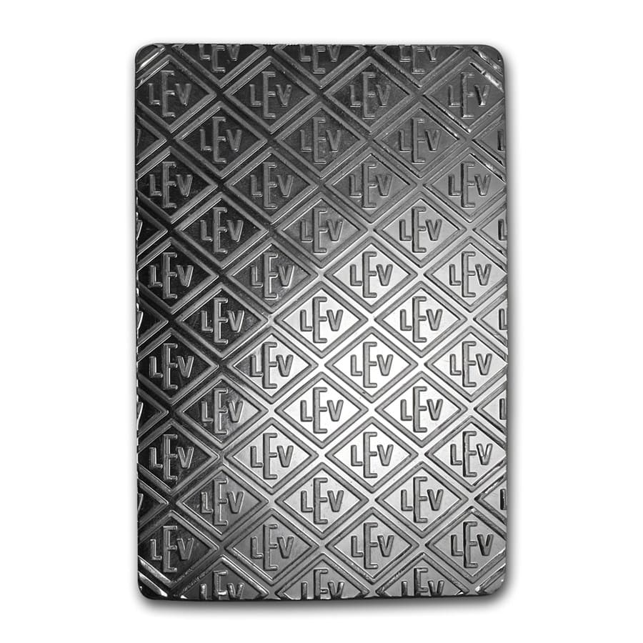 100 oz Silver Bars - Geiger (Security Line Series) - New Design