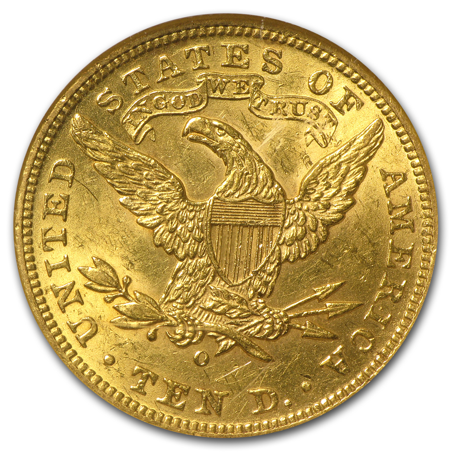 1904-O $10 Liberty Gold Eagle AU-58 NGC
