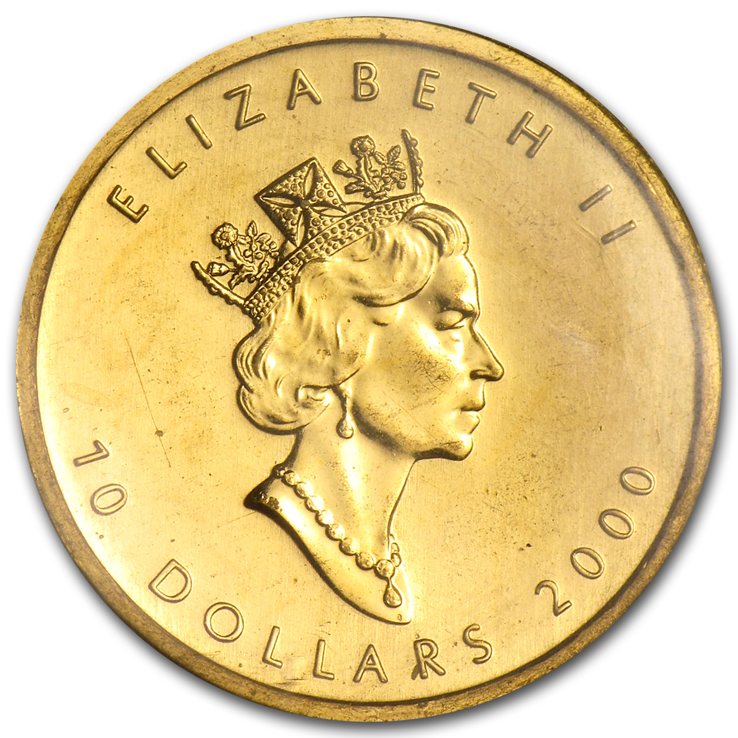 2000 Canada 1/4 oz Gold Maple Leaf BU