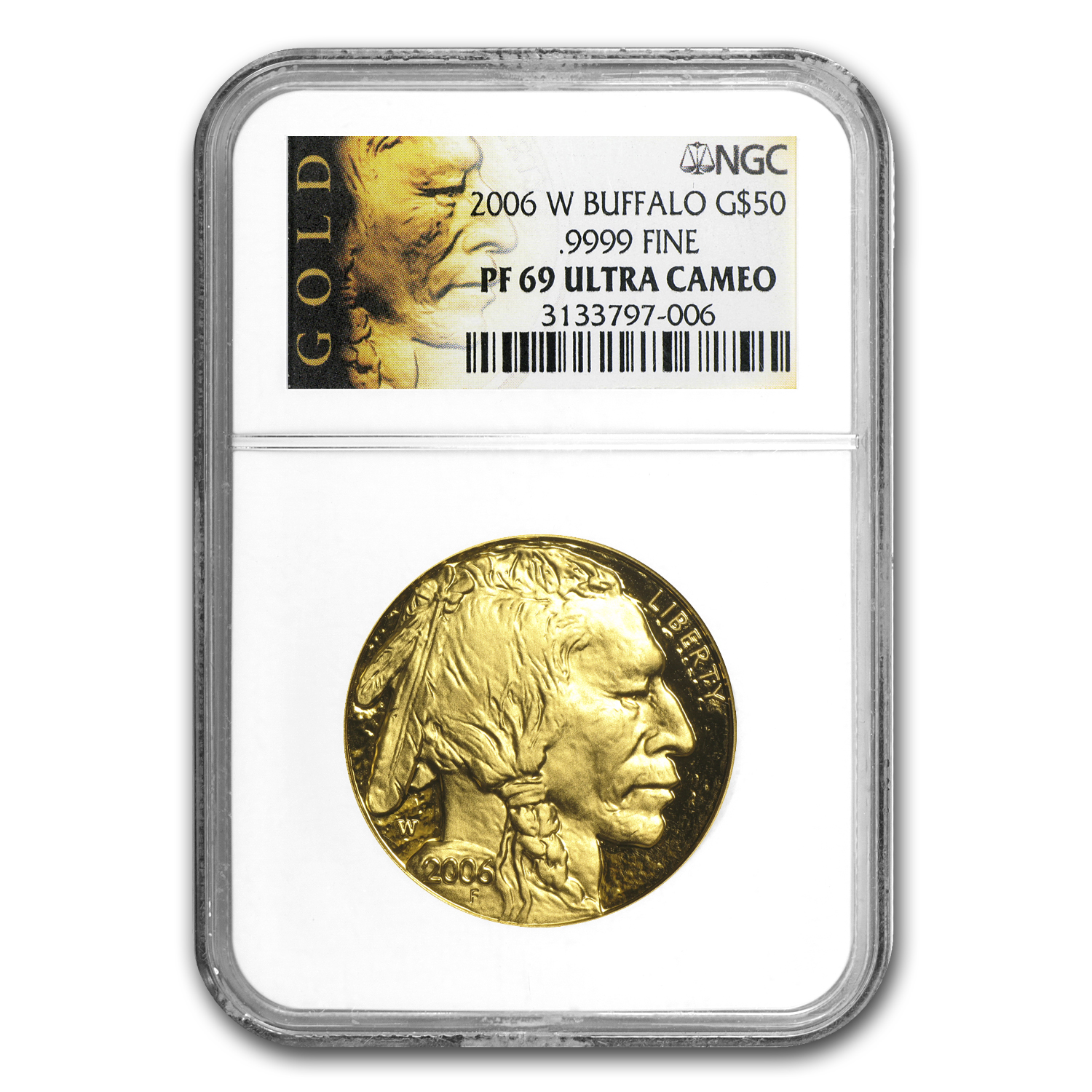 1 oz Proof Gold Buffalo PF-69 NGC (Random Year)
