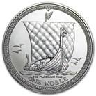 Isle of Man 1 oz Platinum Noble BU