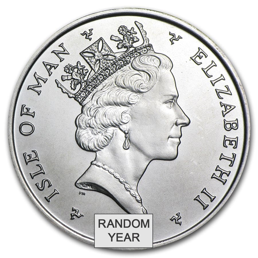 1 oz Isle of Man Platinum Noble (Brilliant Uncirculated)