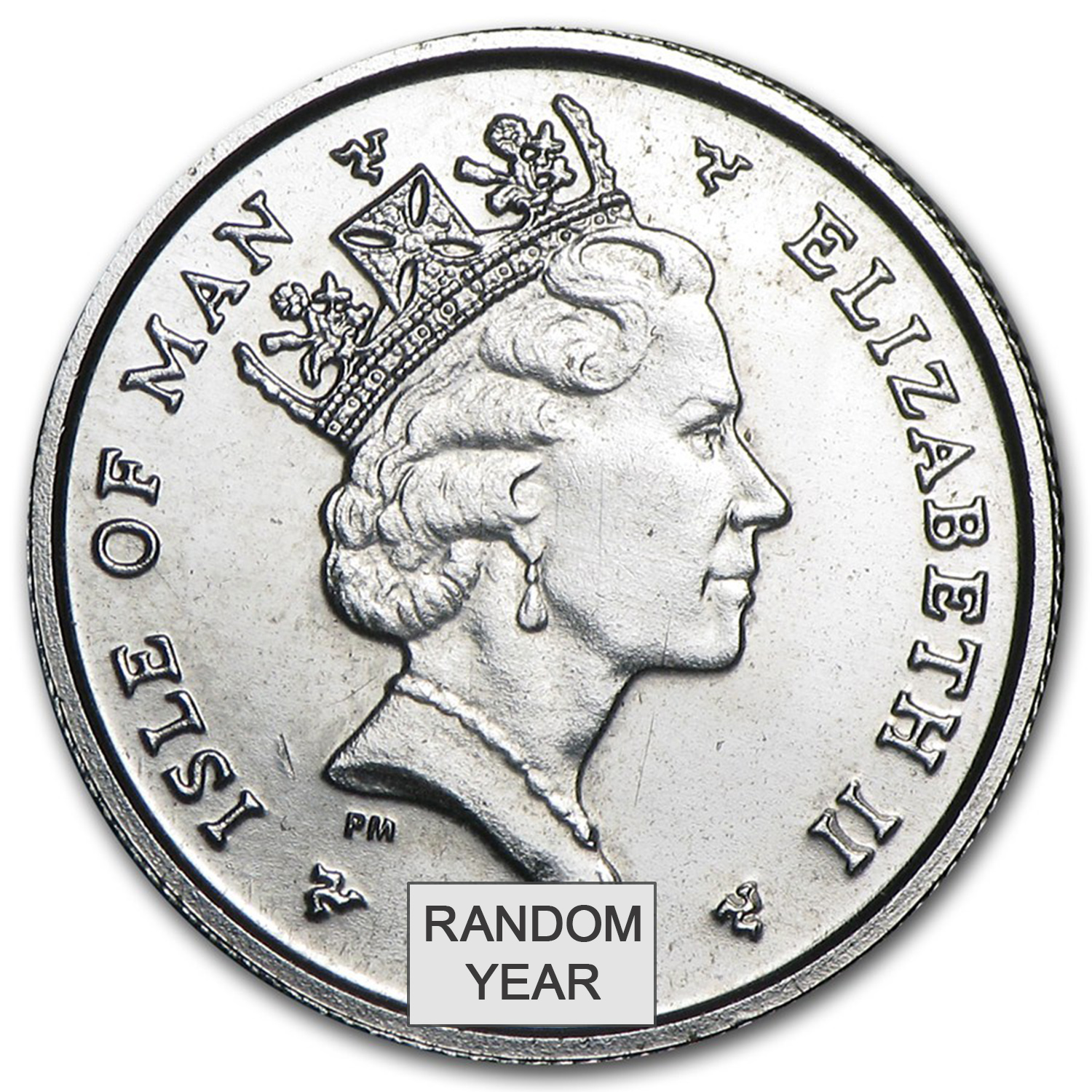 Isle of Man 1/10 oz Platinum Noble BU (Random)