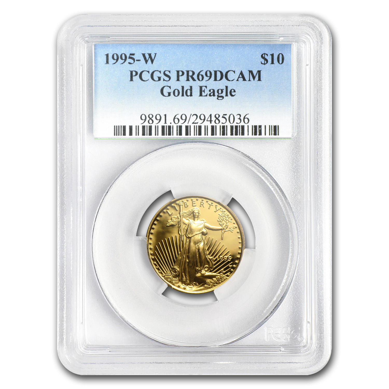 1/4 oz Proof Gold American Eagle PR-69 PCGS (Random Year)