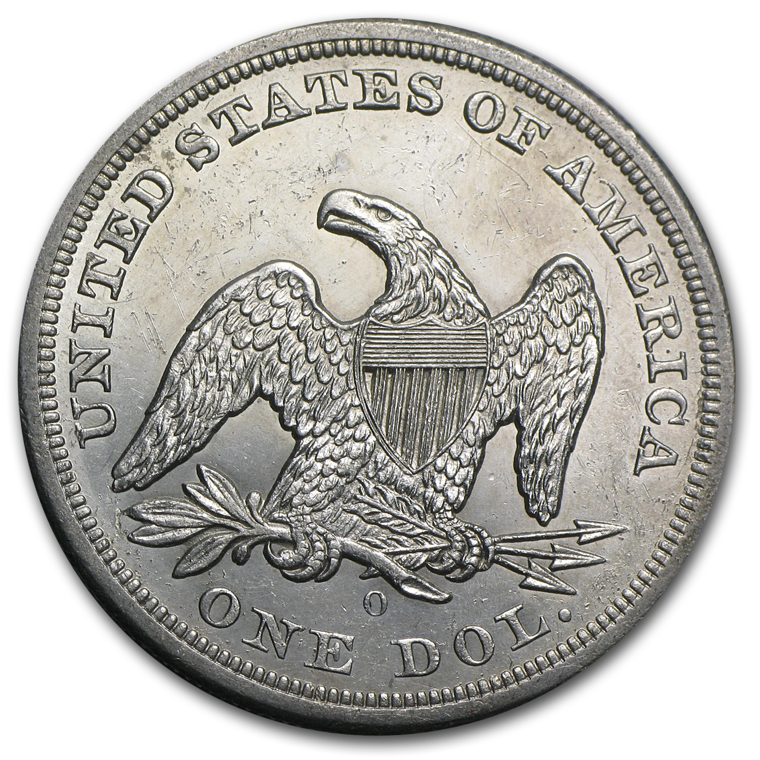 1840-1873 Liberty Seated Dollar BU