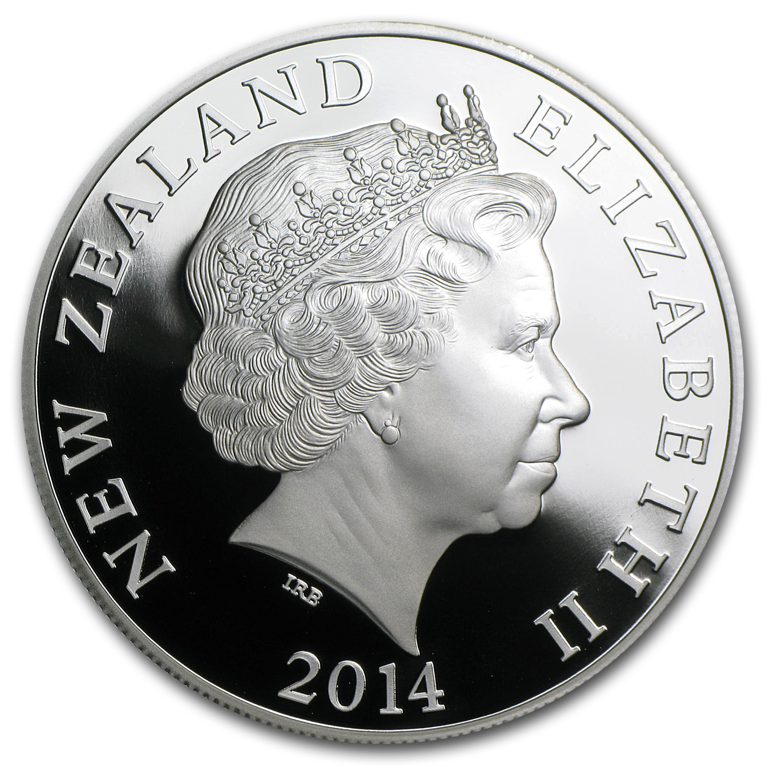 2014 1 oz Silver Proof New Zealand - Maori Art: Papatuanuku