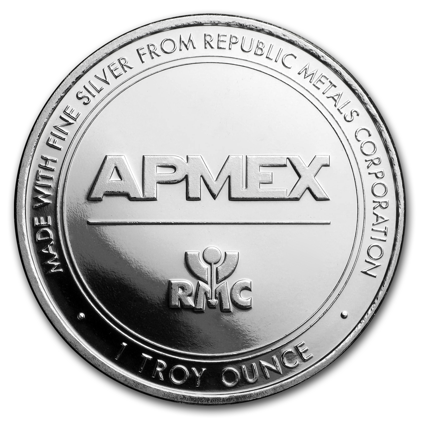 1 oz Silver Rounds - APMEX/RMC (Co-Brand)