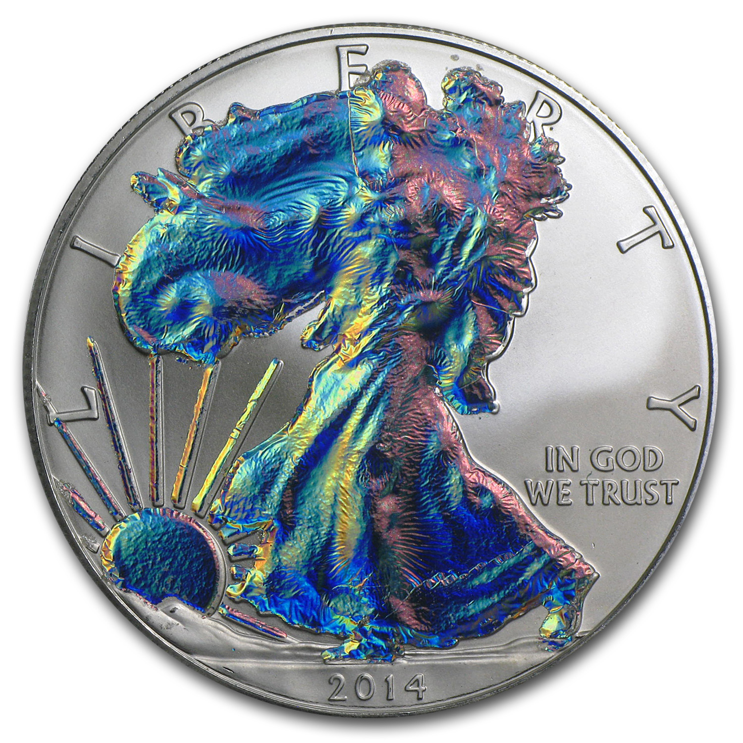 1 oz Silver American Eagle (Holographic)