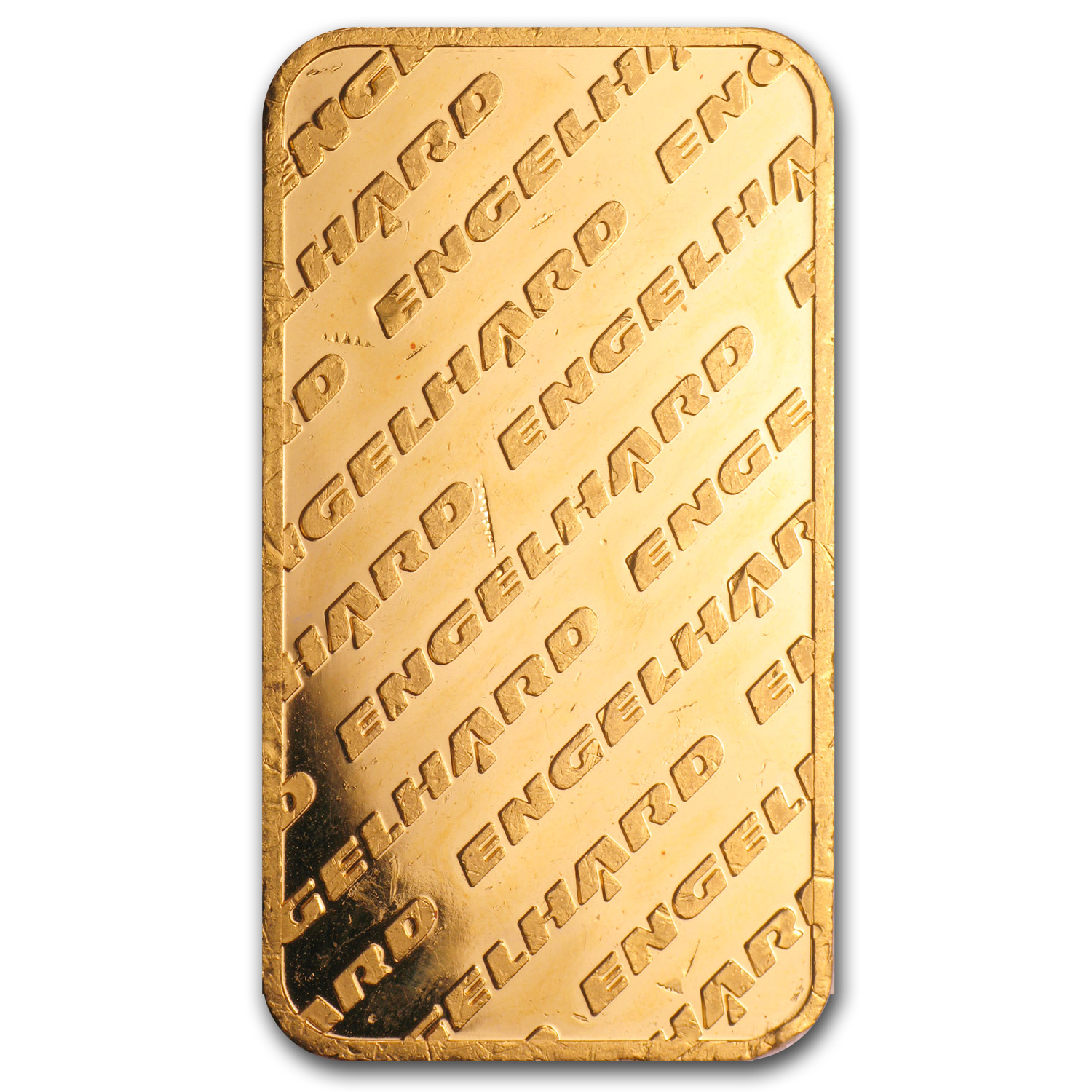 100 gram Gold Bar - Engelhard ('Eagle' Logo)
