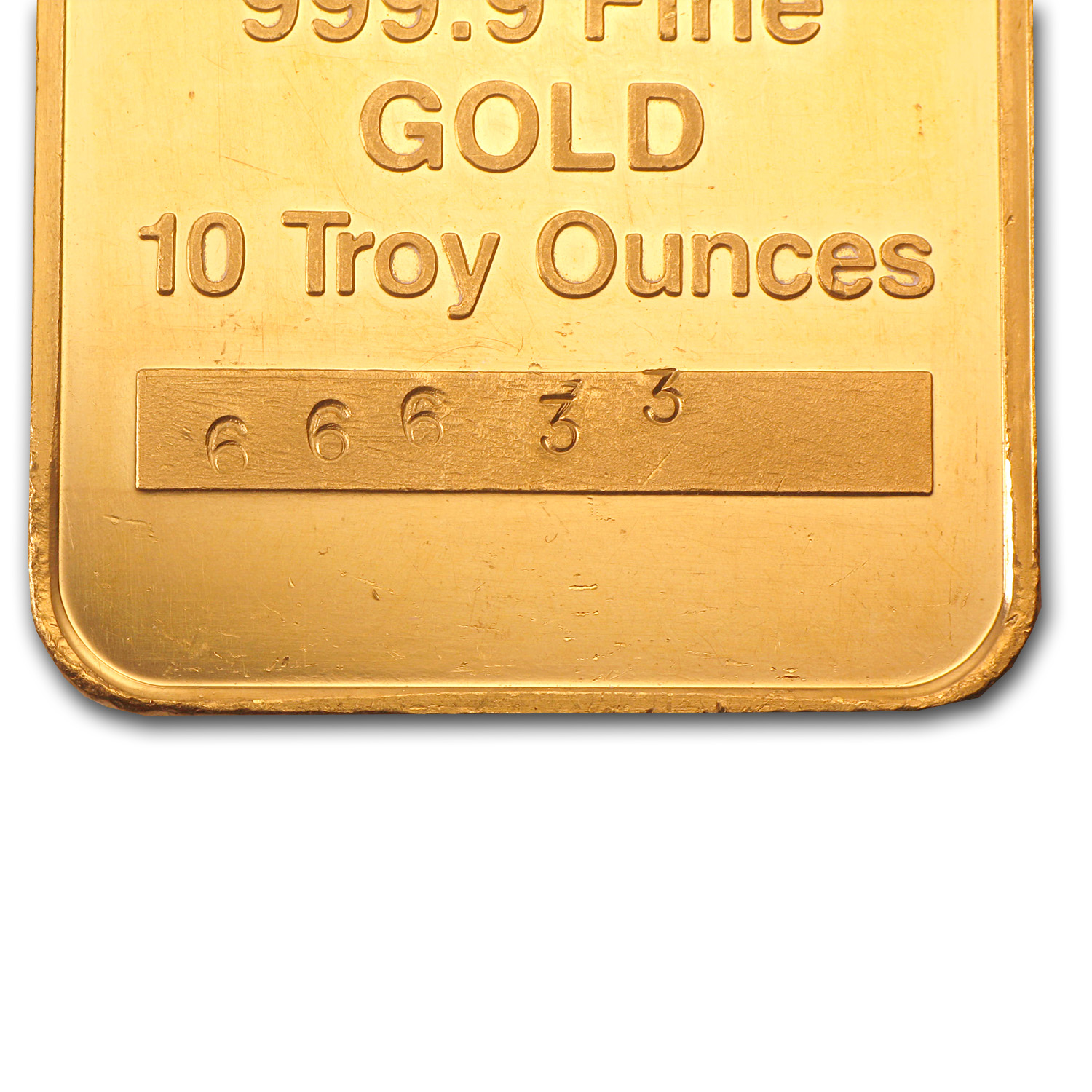10 oz Gold Bars - Engelhard ('Eagle Logo')