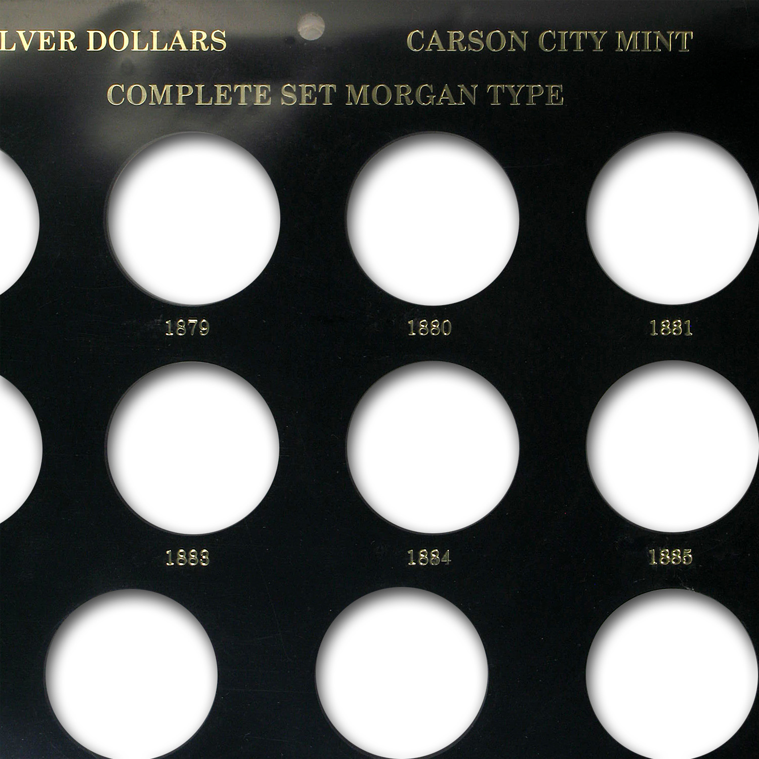 Carson City Collection Holder - Nevada Shaped - Capital Plastics
