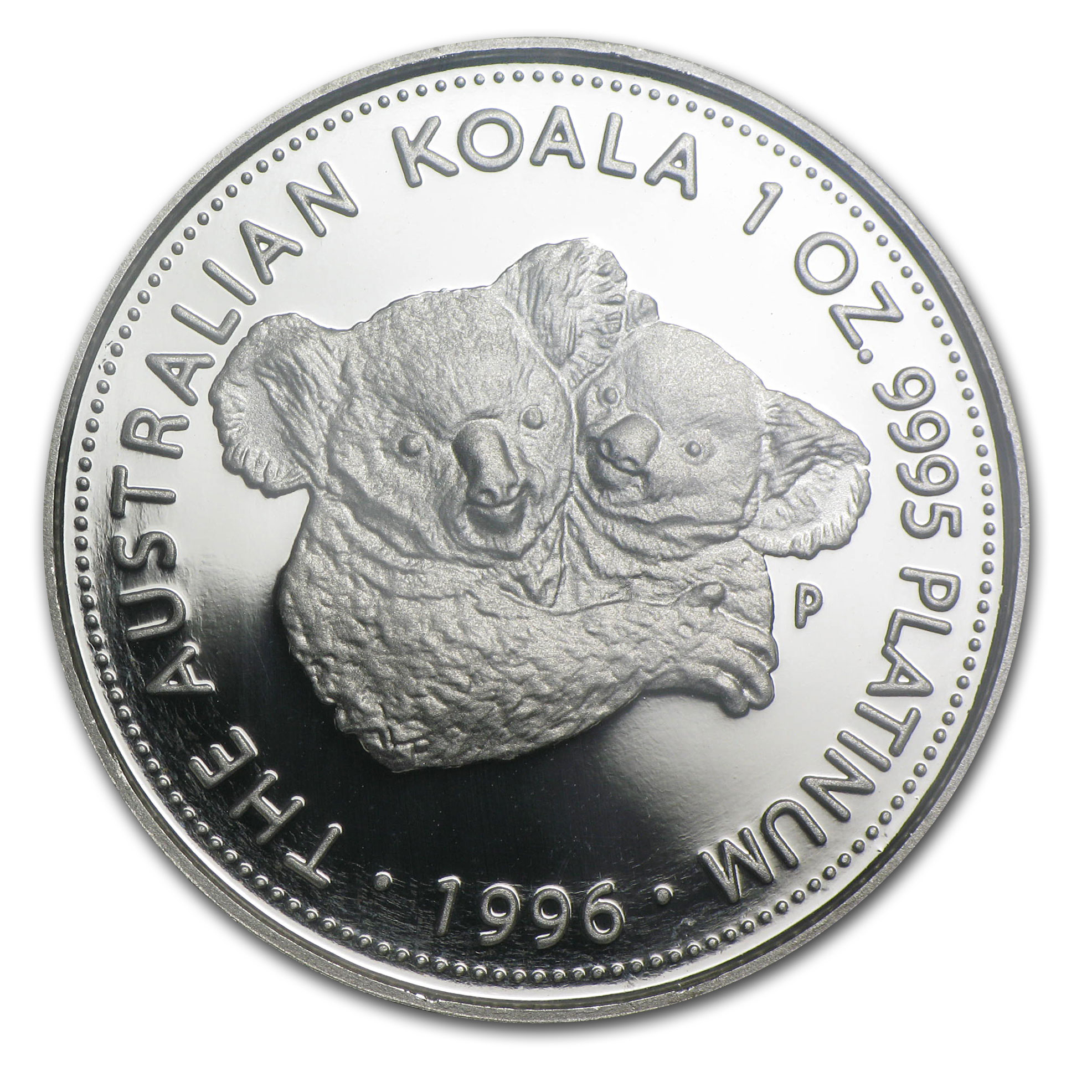 1996 Australia 1 oz Proof Platinum Koala PF-69 NGC