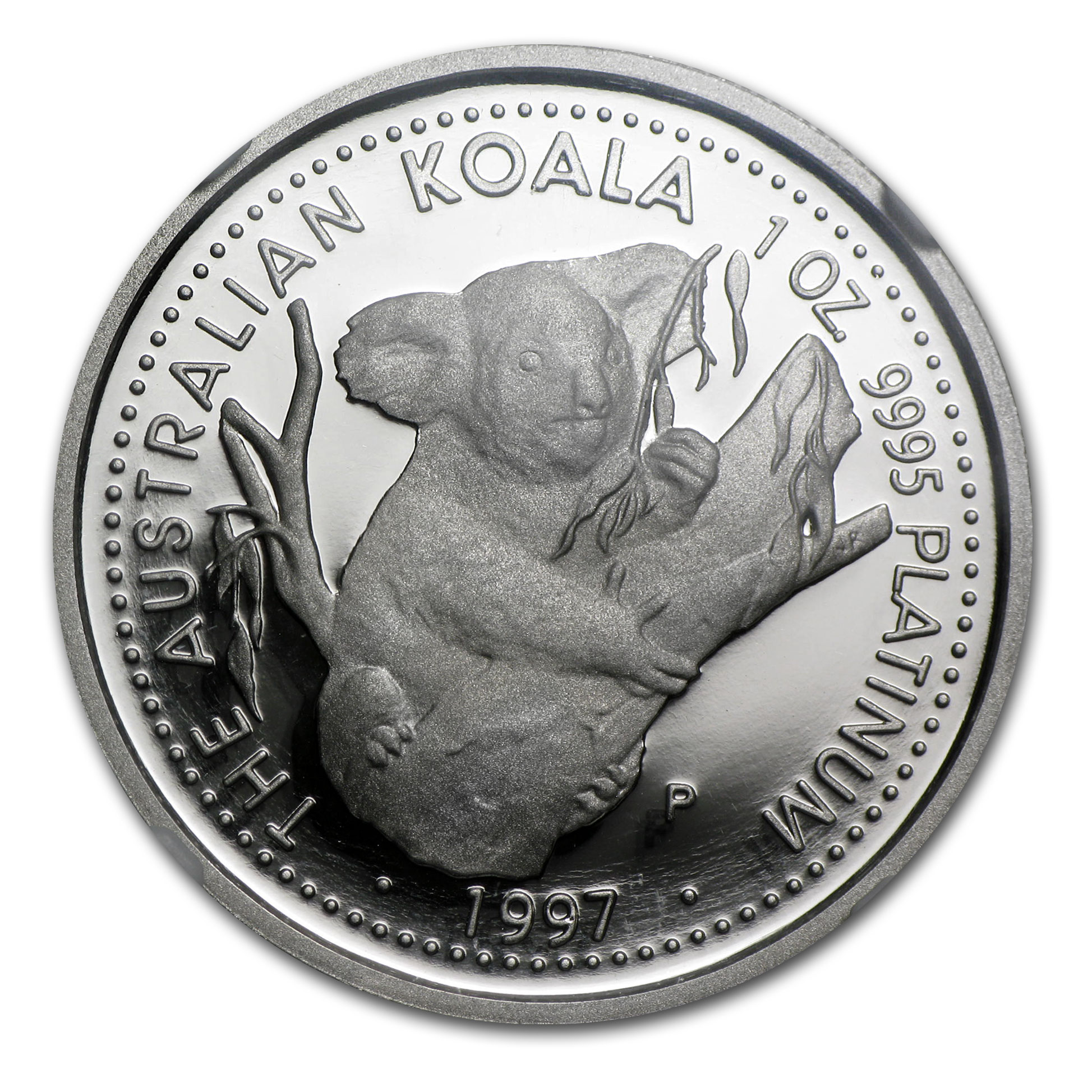 1997 Australia 1 oz Proof Platinum Koala PF-70 NGC