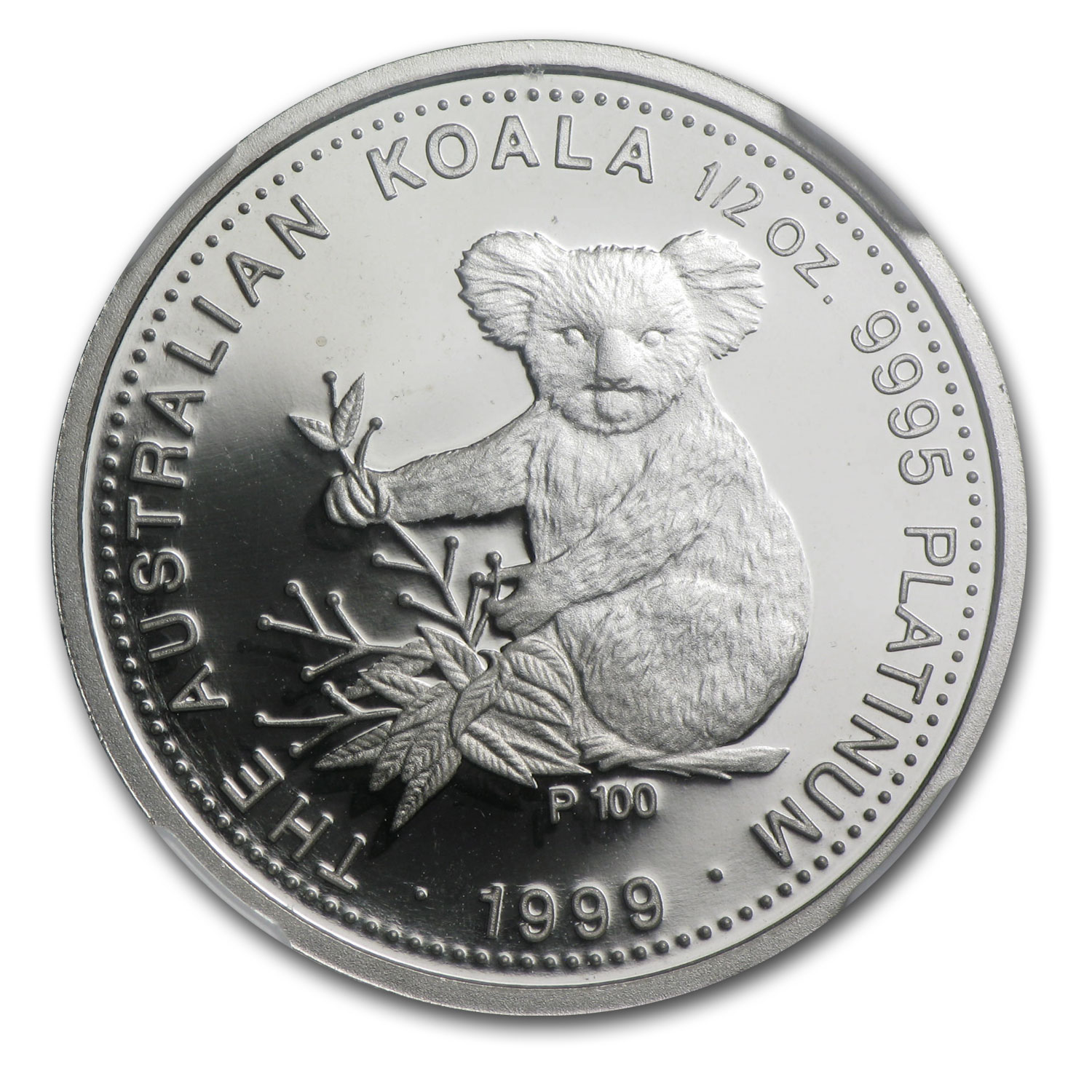 1999 Australia 1/2 oz Proof Platinum Koala PF-70 NGC