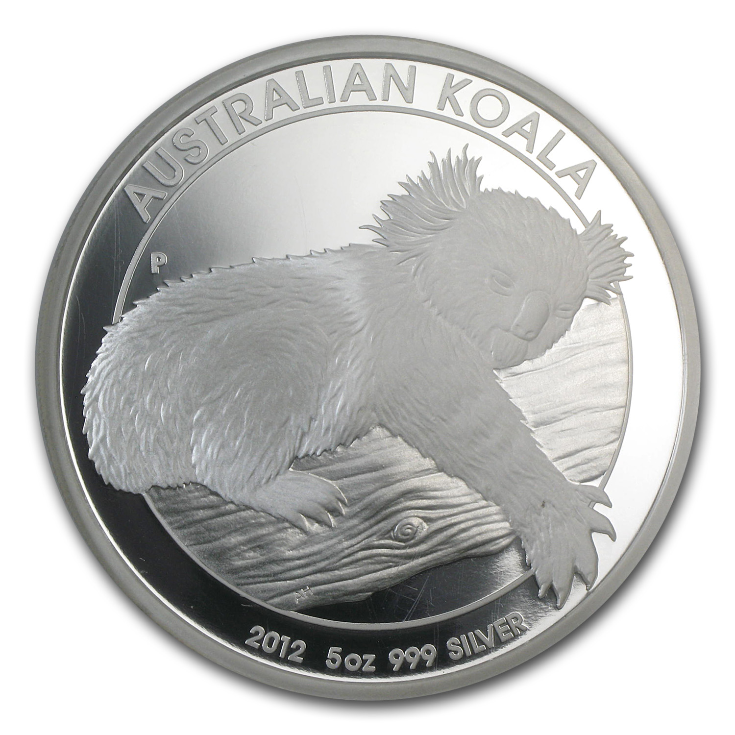 2012-P Australia 5 oz Silver Koala PF-69 NGC (1 of First 500)