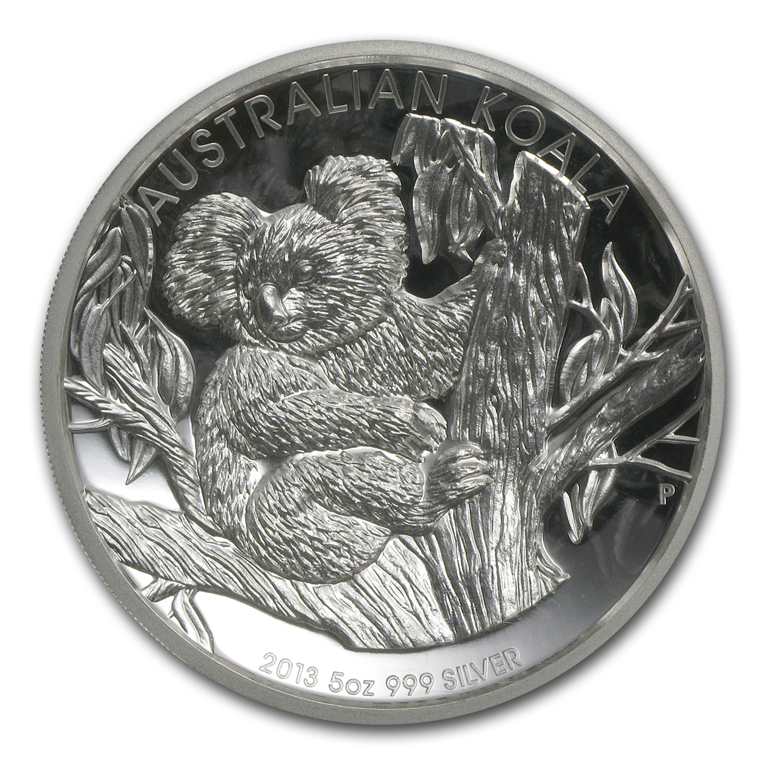 2013-P 5 oz High Relief Proof Silver Koala PF-70 NGC