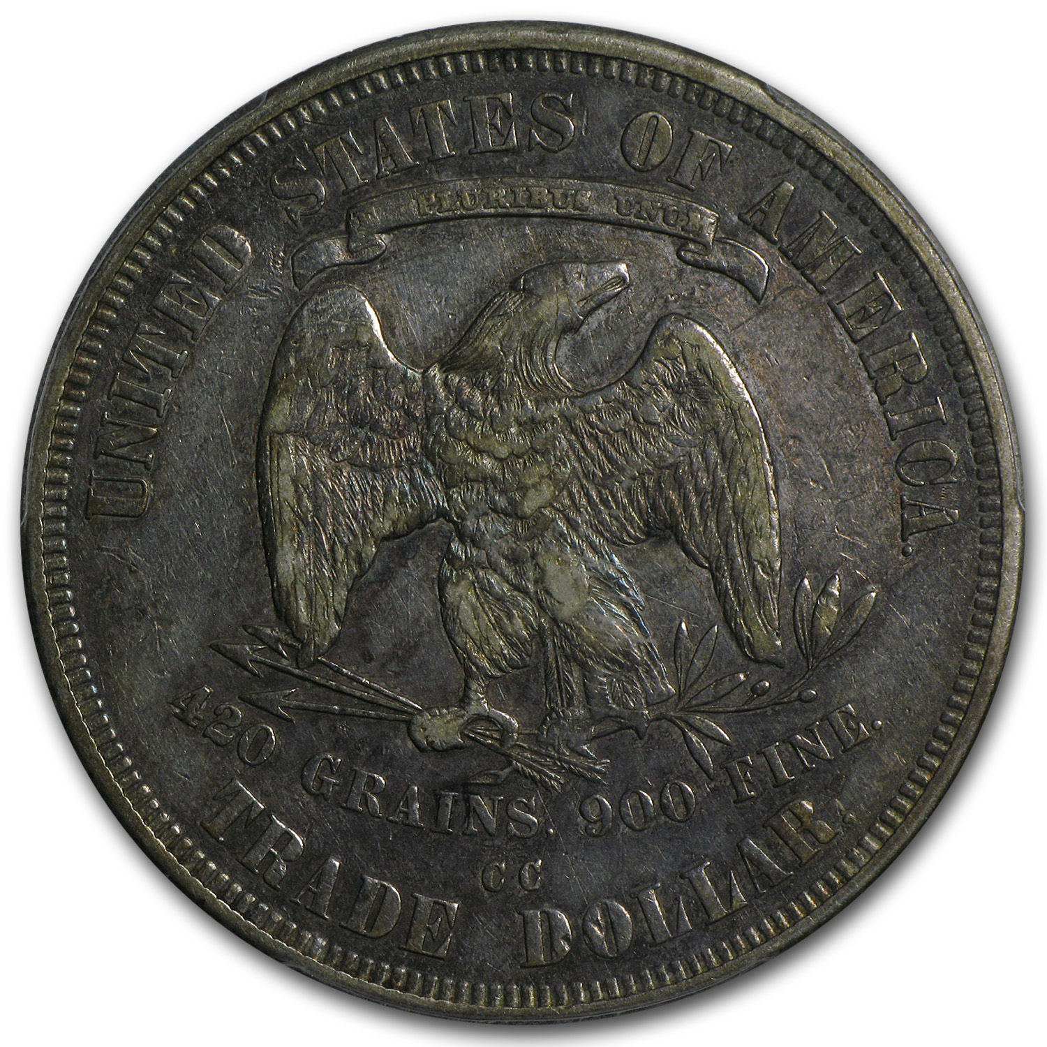 1876-CC Trade Dollar XF-45 PCGS