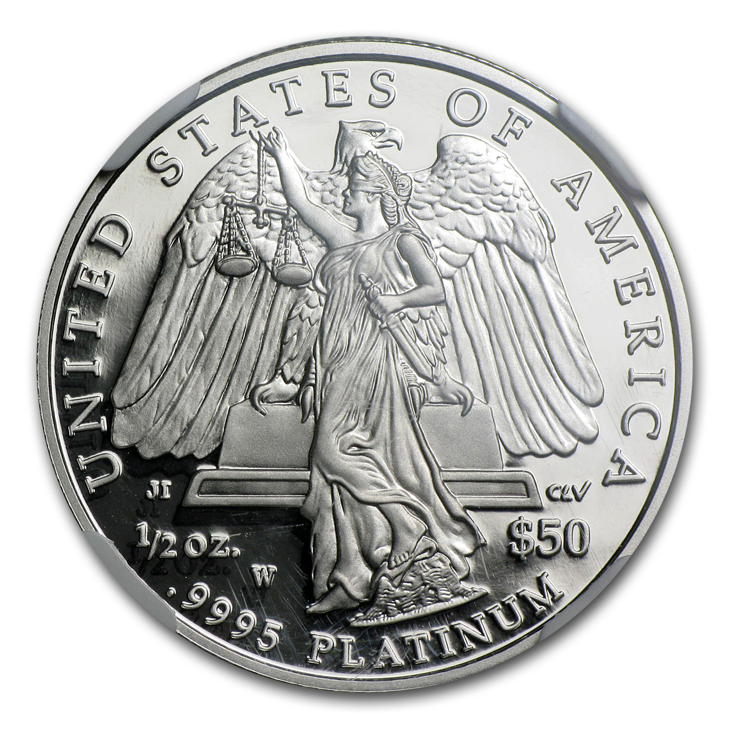 2008-W 1/2 oz Proof Platinum American Eagle PF-69 UCAM NGC