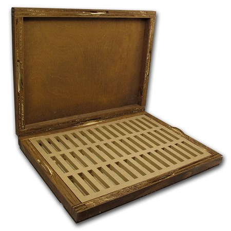 Geiger Edelmetalle Wood Storage Box For 250 Gram Silver