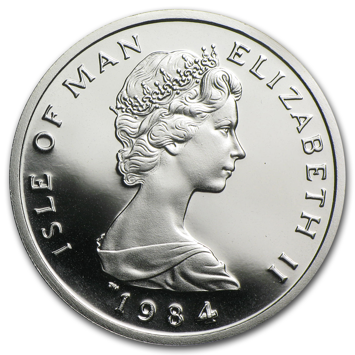 1984 Isle of Man 1/2 oz Platinum Noble Proof
