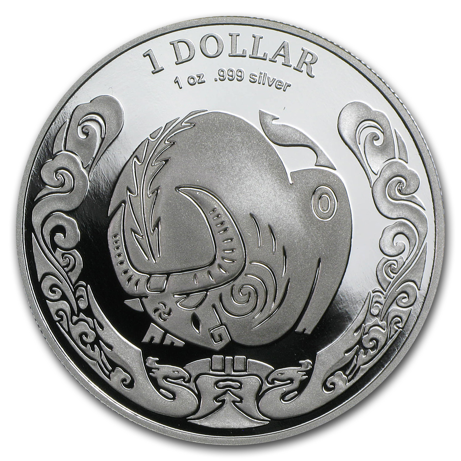 2009 Australia 1 oz Silver Year of the Ox Proof