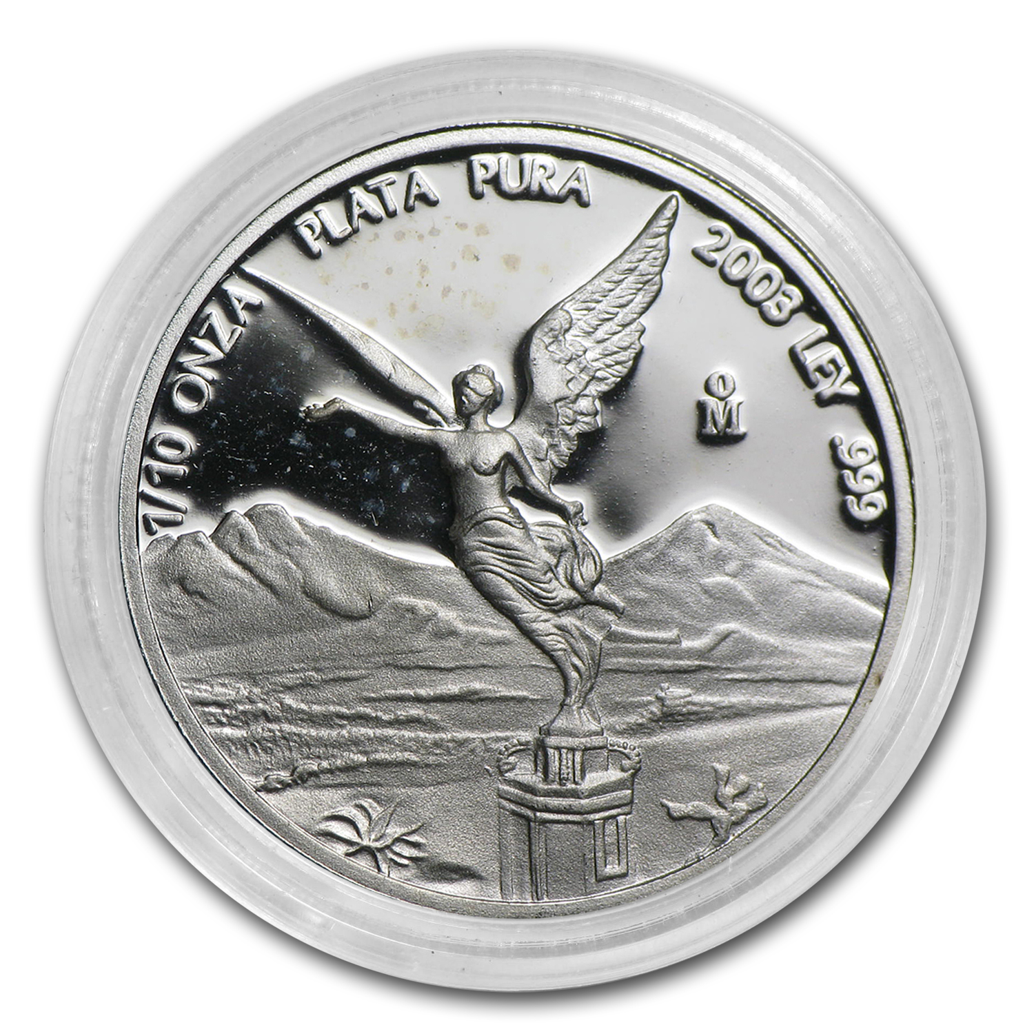 2003 Mexico 1/10 oz Silver Libertad Proof (In Capsule)