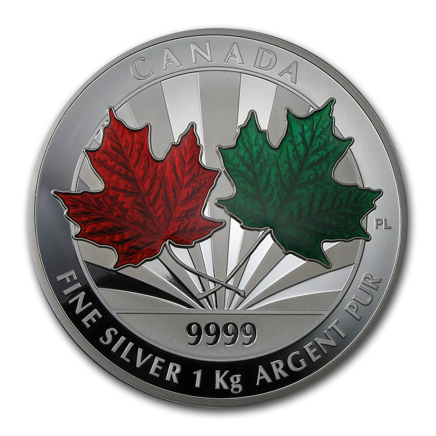 2014 Kilo Silver Canadian $250 Maple Leaf Forever