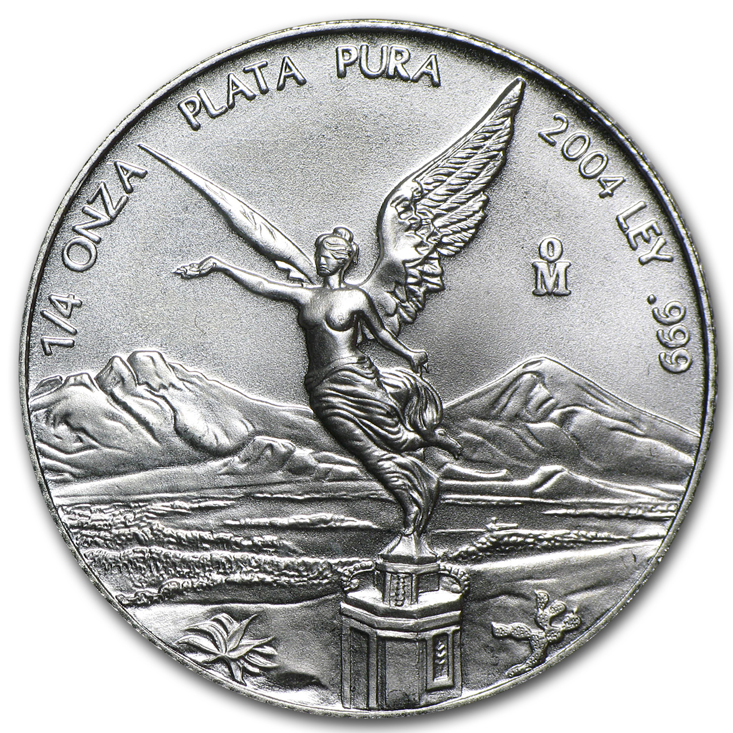 2004 1/4 oz Silver Libertad (Brilliant Uncirculated)