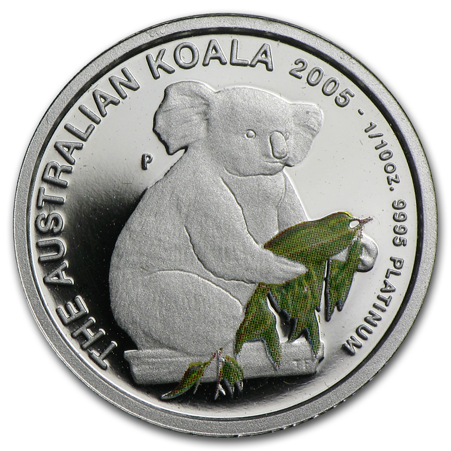 2005 Australia 1/10 oz Proof Platinum Koala