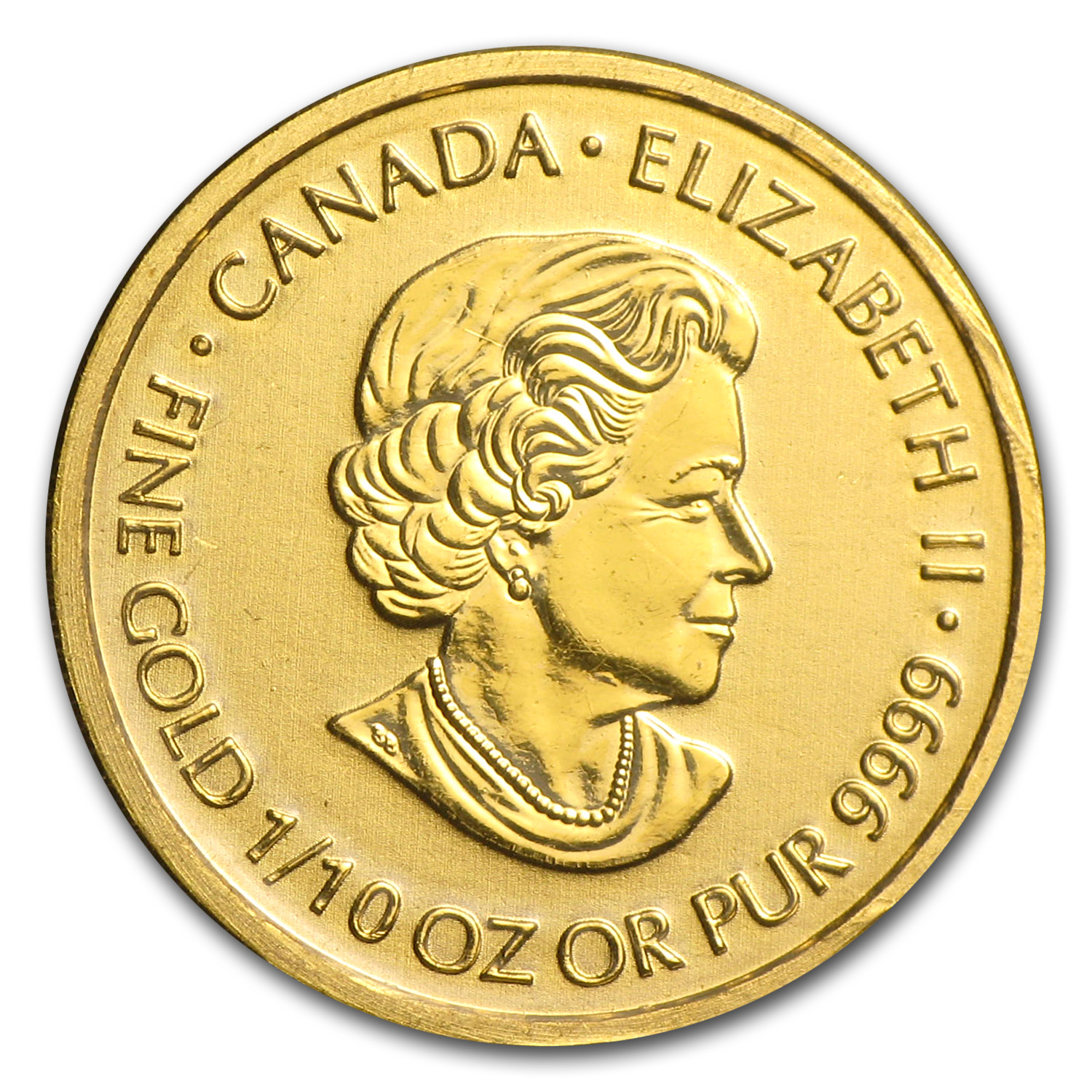 2014 Canada 1/10 oz Gold $5 Special Service Force BU