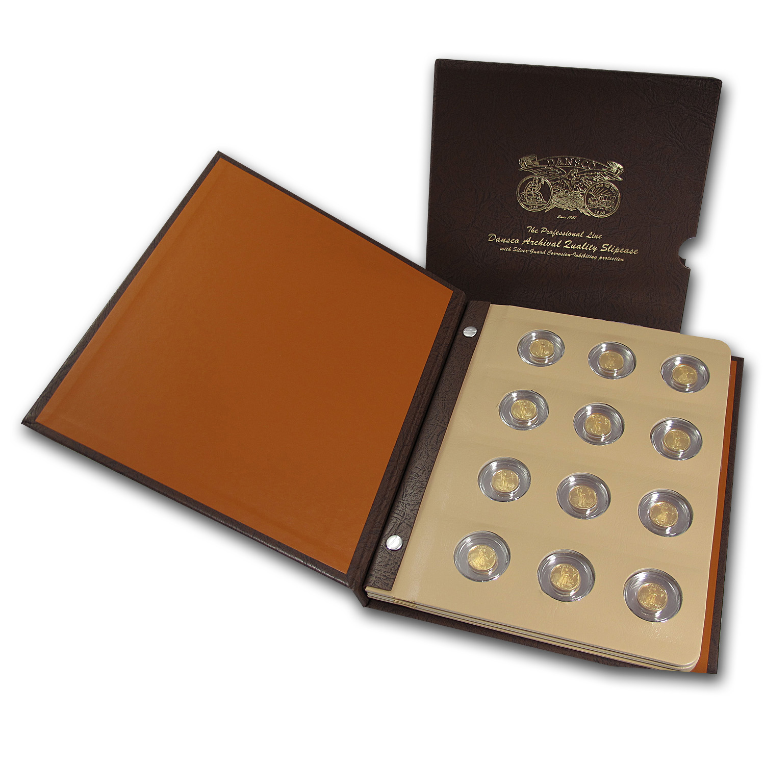 1988-2014 26-Coin 1/10 oz Proof Gold Eagle Set (Dansco Album)