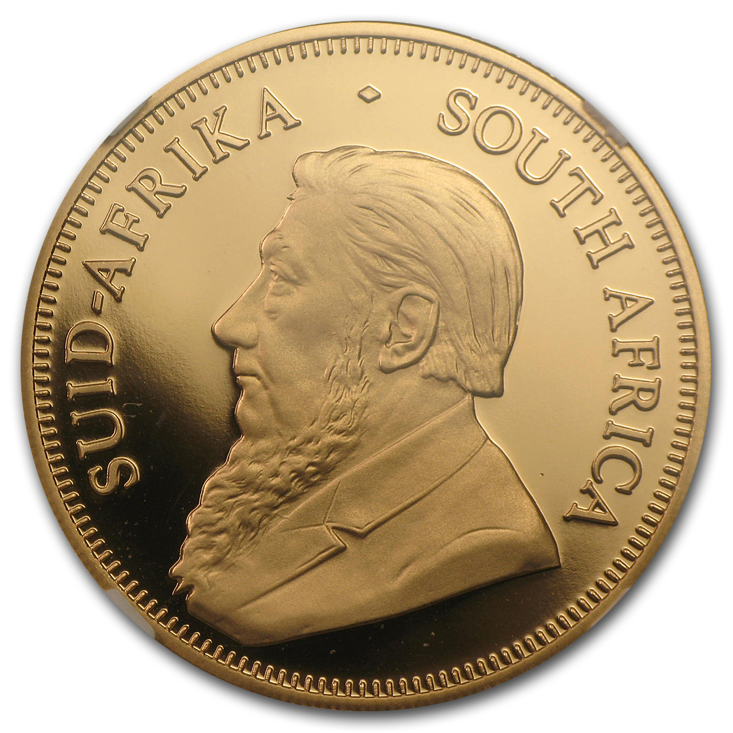 2013 South Africa 1 oz Gold Krugerrand PF-69 NGC (Coronation)
