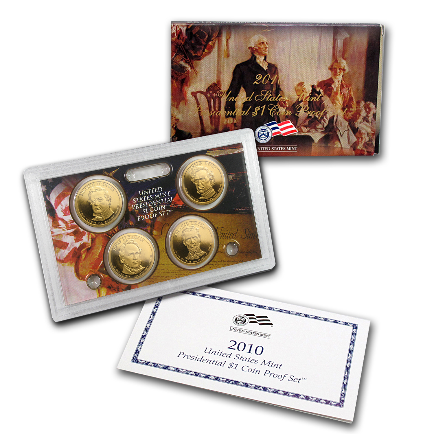 2010 Presidential Dollar Proof Set