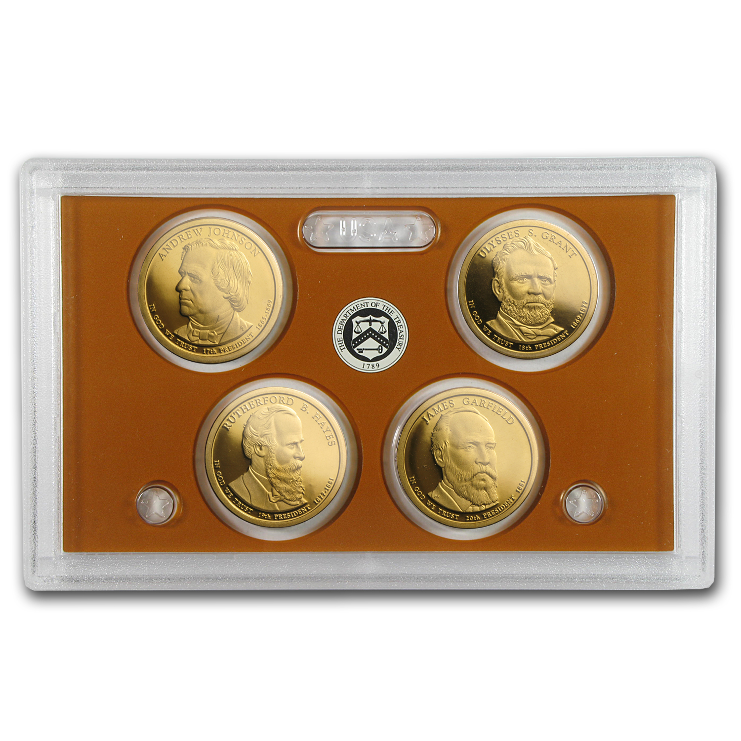 2011 Presidential Dollar Proof Set