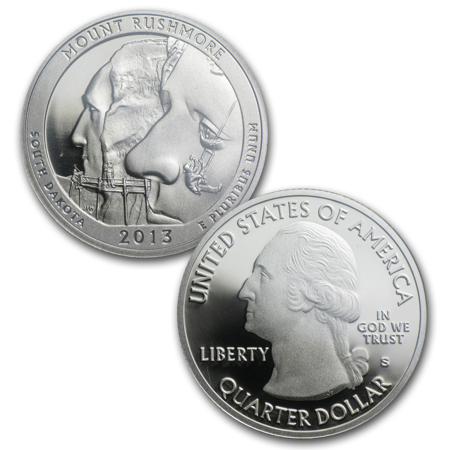 2013 America the Beautiful Quarters Proof Set