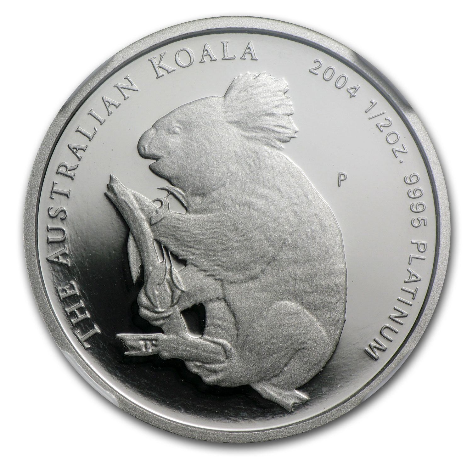 2004 Australia 1/2 oz Proof Platinum Koala PF-70 NGC