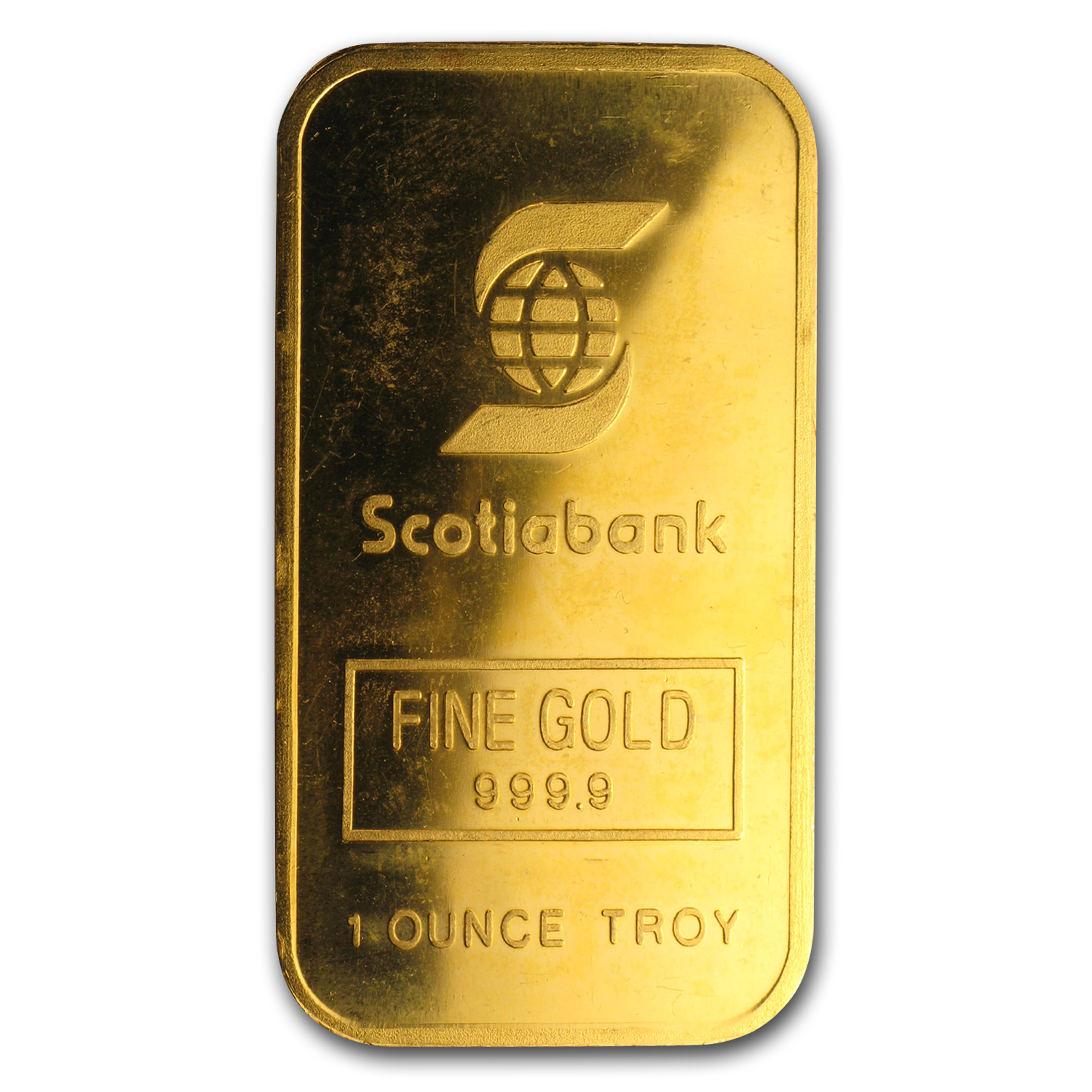 1 oz Gold Bar - Engelhard (Scotiabank, Maple)