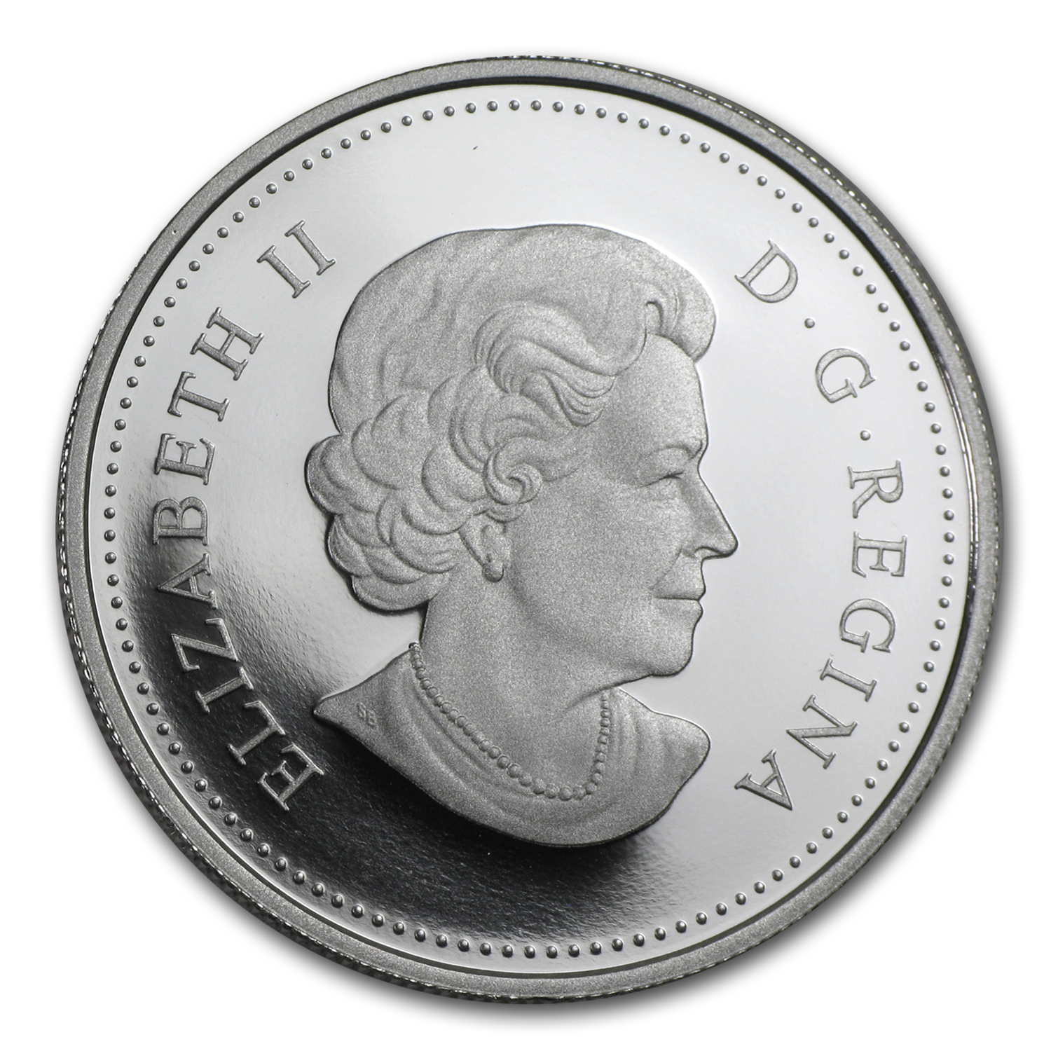 2015 Canada Silver Year of the Sheep Proof (Colorized)