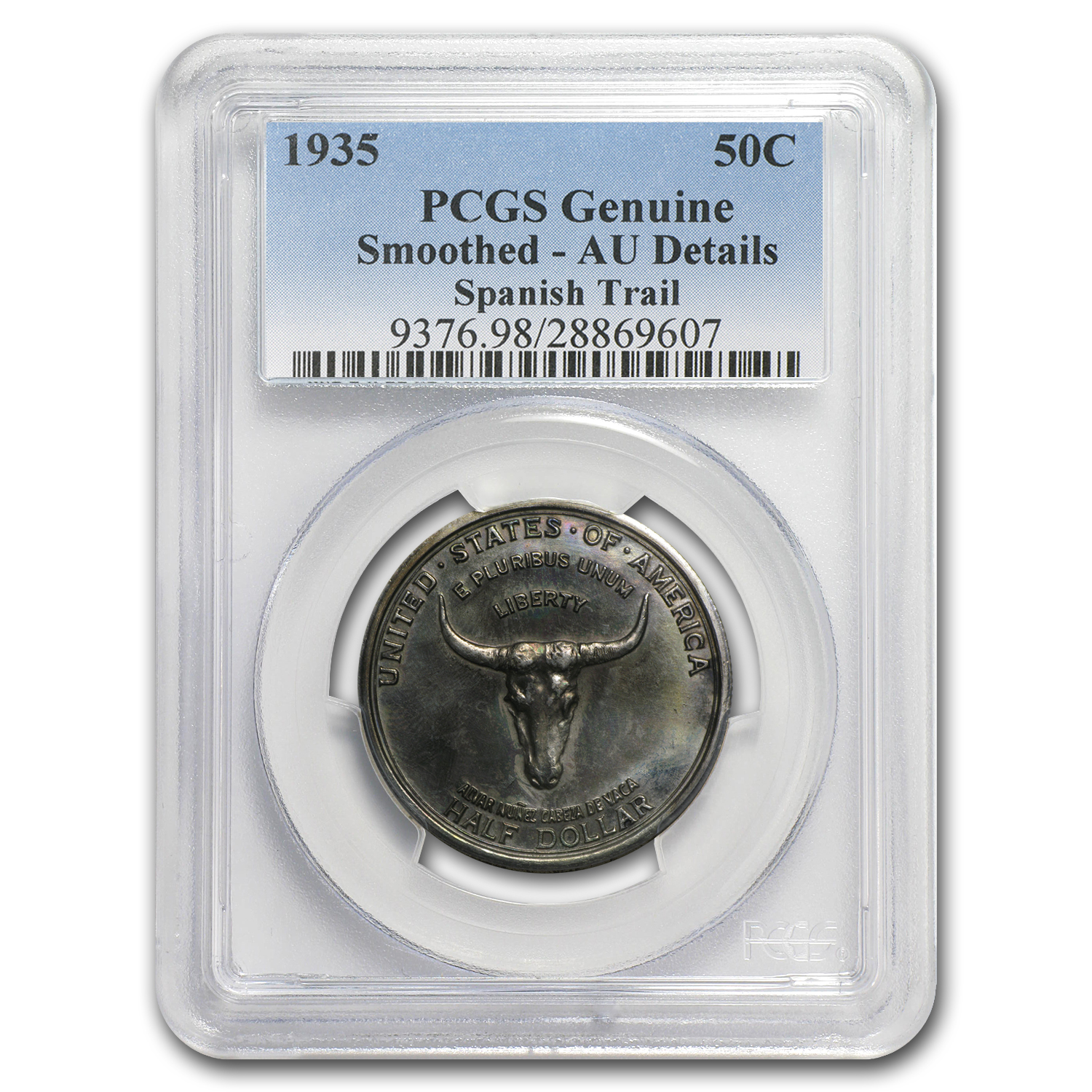 1935 Old Spanish Trail - AU Details PCGS